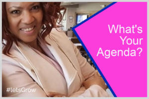 Whats Your Agenda Blog Header